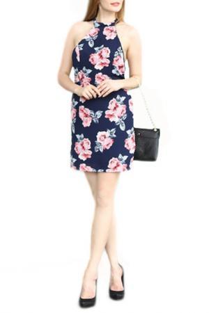 Платье LESARA. Цвет: розовый
