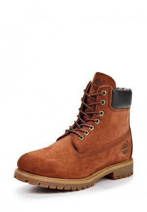 Ботинки Timberland. Цвет: коричневый