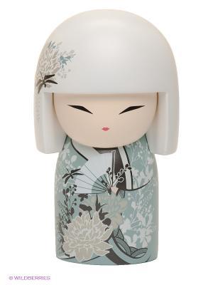 Кукла-талисман Миюна Kimmidoll. Цвет: белый, голубой