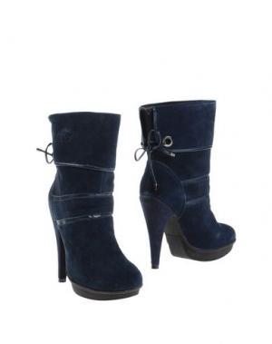 Полусапоги и высокие ботинки BACI & ABBRACCI. Цвет: темно-синий