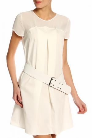 Платье BGN. Цвет: белый