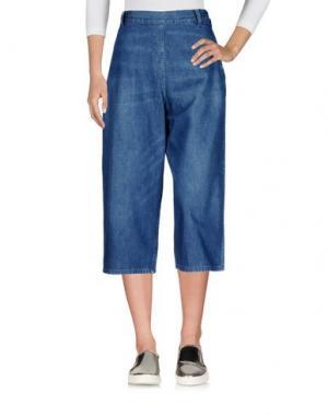 Джинсовые брюки-капри LEVI'S VINTAGE CLOTHING. Цвет: синий