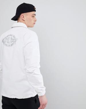 Dickies Камуфляжная спортивная куртка со светоотражающим принтом на спине Dick. Цвет: серый