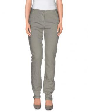 Повседневные брюки EMMA&GAIA. Цвет: серый