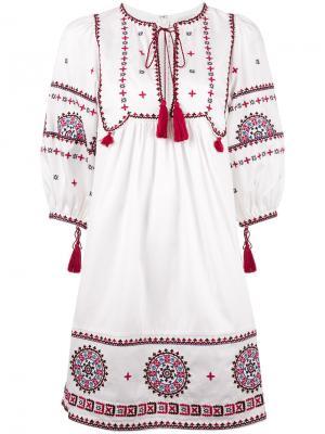 Платье Sindhi Talitha. Цвет: белый