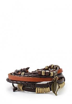 Комплект браслетов 9 шт. Joubeejou. Цвет: разноцветный
