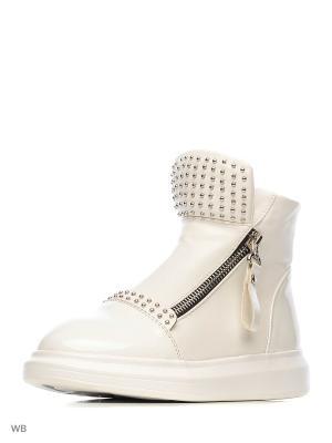 Ботинки Болеро. Цвет: белый