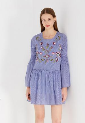 Платье Desigual. Цвет: голубой
