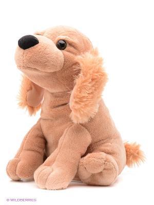Собачка Пушистые друзья. Цвет: бежевый