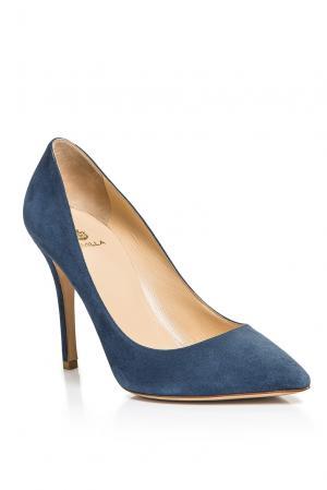 Замшевые туфли AF-186371 Semilla. Цвет: синий