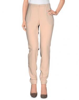 Повседневные брюки SET. Цвет: розовый