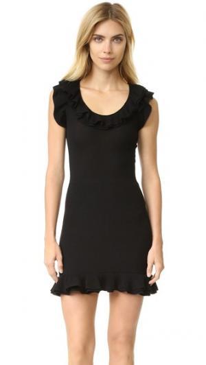 Платье без рукавов Boutique Moschino. Цвет: голубой