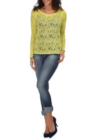 Блуза George Rech. Цвет: желтый