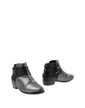 Полусапоги и высокие ботинки YOSI SAMRA. Цвет: серый