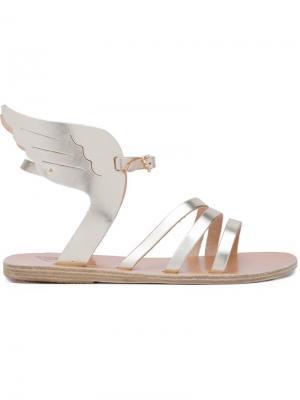 Сандалии Ikaria Ancient Greek Sandals. Цвет: металлический