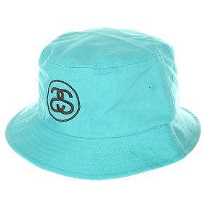 Панама  link Bucket Hat Teal Stussy. Цвет: голубой