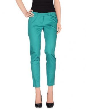 Повседневные брюки HOPE COLLECTION. Цвет: зеленый