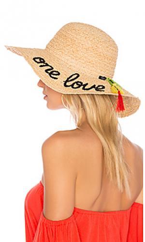 Шляпа one love Hat Attack. Цвет: цвет загара