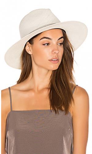 Шляпа evie KIN/K. Цвет: белый