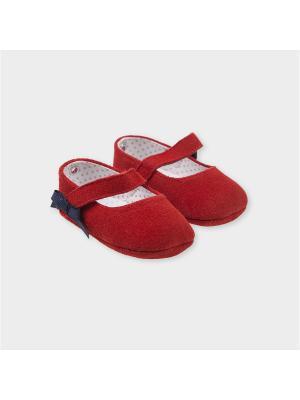Туфли-балетки Tutto Piccolo. Цвет: красный