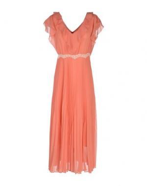 Длинное платье PENNYBLACK. Цвет: лососево-розовый