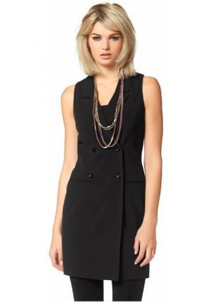 Платье-футляр Laura Scott. Цвет: черный