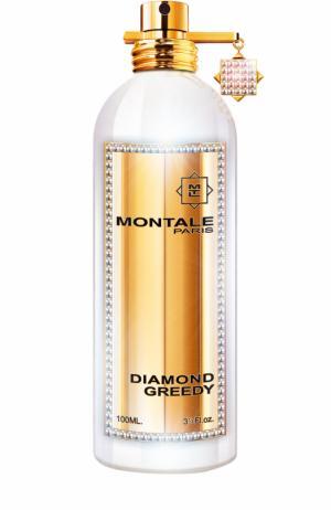 Парфюмерная вода Diamond Greedy Бриллиантовая коллекция Montale. Цвет: бесцветный