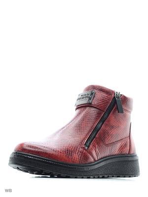 Ботинки Marko. Цвет: красный