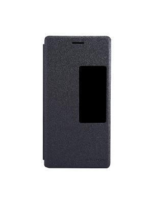 Чехол-книжка для HUAWEI Ascend P7 Sparkle Leather Case Nillkin. Цвет: черный