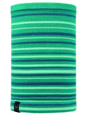 Бандана BUFF 2016-17 KNITTED & POLAR NECKWARMER LAKI TURQUOISE-TURQUOISE-Standard. Цвет: бирюзовый, голубой, зеленый