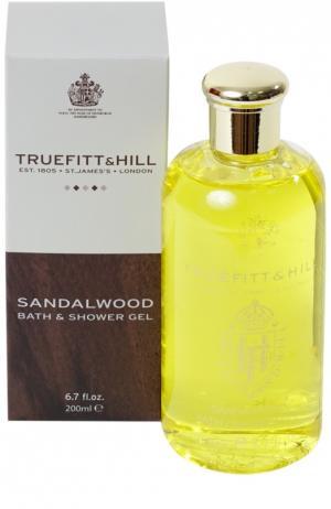Гель для душа Sandalwood Truefitt&Hill. Цвет: бесцветный