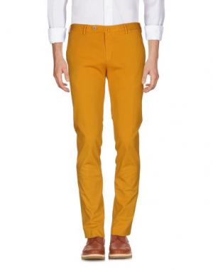 Повседневные брюки G.T.A. MANIFATTURA PANTALONI. Цвет: охра