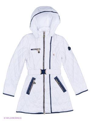 Пальто Fobs. Цвет: белый