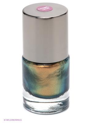 Лак для ногтей Поетеа хамелеон, тон 93 POETEQ. Цвет: зеленый, коричневый