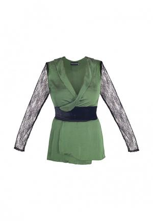 Блуза Elena Andriadi. Цвет: зеленый