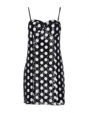 Короткое платье RARE LONDON. Цвет: черный