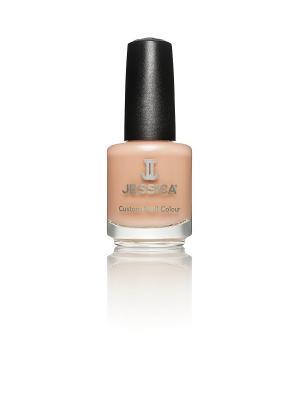 Лак для ногтей  #436 Creamy Caramel, 14,8 мл JESSICA. Цвет: бежевый