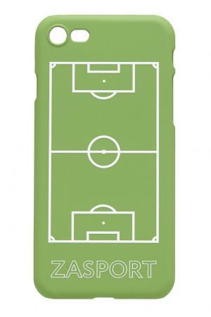 Чехол для iPhone 7 ZASPORT. Цвет: зеленый
