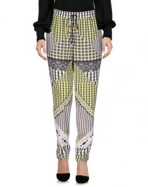 Повседневные брюки HALE BOB. Цвет: кислотно-зеленый