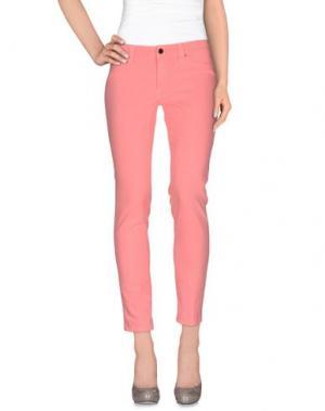 Повседневные брюки S.O.S by ORZA STUDIO. Цвет: розовый
