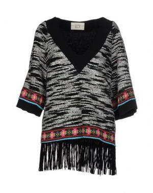 Блузка ELLA LUNA. Цвет: черный