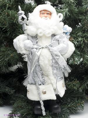 Дед Мороз в серебряном костюме Magic Time. Цвет: белый