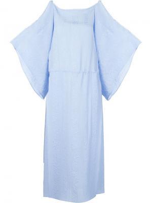 Платье Bibi Vilshenko. Цвет: синий