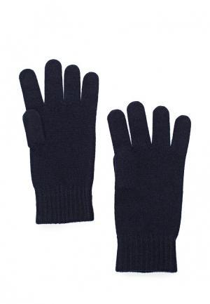 Перчатки Sisley. Цвет: синий