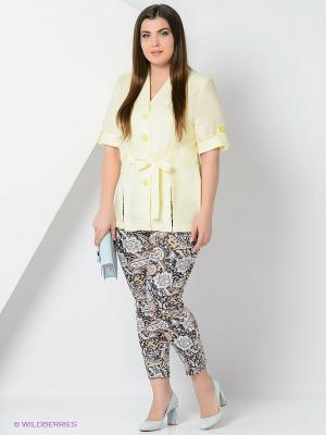 Комплект одежды Amelia Lux. Цвет: черный, желтый