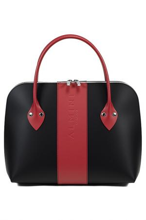 Bag ALMINI MILANO. Цвет: black and red