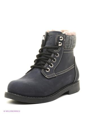 Ботинки VelVet. Цвет: синий