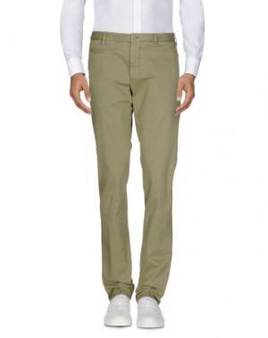 Повседневные брюки ALTEA DAL 1973. Цвет: зеленый-милитари