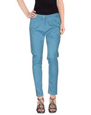 Джинсовые брюки NINE:INTHE:MORNING. Цвет: небесно-голубой