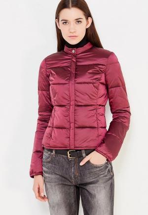 Куртка утепленная Trussardi Jeans. Цвет: бордовый